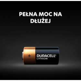2x Bateria DURACELL CR123